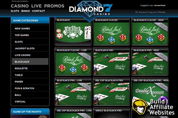 Diamond7 screen shot